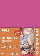 Barevný papír A4 170 g fluo -růžový 50 ks