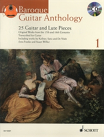 BAROQUE GUITAR ANTHOLOGY VOL1