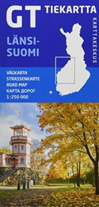 FINLAND WEST LNSISUOMI ROAD MAP