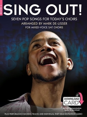 Sing Out] Seven Pop Songs For Today's Choirs - Book 4 (Book/Audio Download)