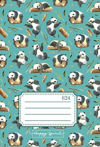 Školní sešit 624 Pandy