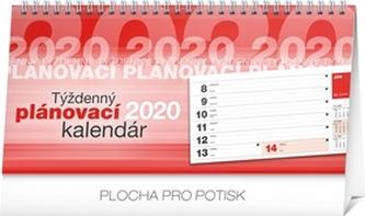 Stolový kalendár Plánovací riadkový 2020
