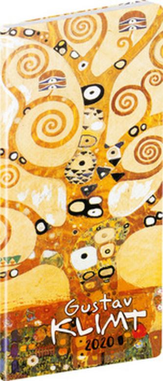 Vreckový diár Gustav Klimt 2020