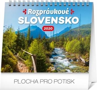 Stolový kalendár Rozprávkové Slovensko 2020