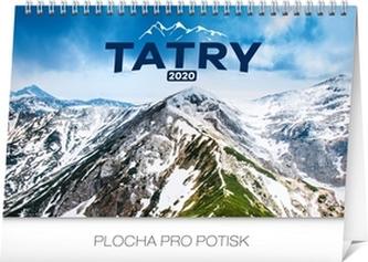 Stolový kalendár Tatry 2020