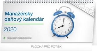 Stolový kalendár Manažérsky daňový SK 2020