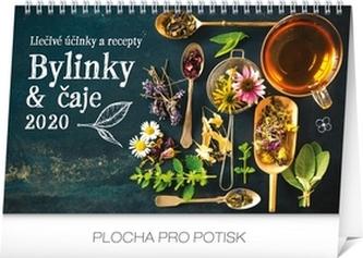 Stolový kalendár Bylinky a čaje 2020