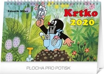 Stolový kalendár Krtko 2020