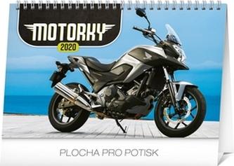 Stolový kalendár Motorky 2020