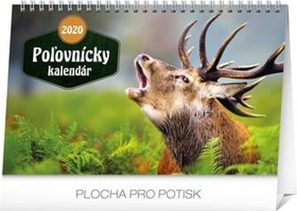 Stolní Poľovnícky kalendár 2020