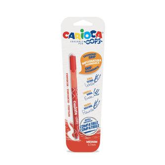 CARIOCA OOPS mazací kuličkové pero - červené