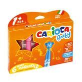 CARIOCA dětské fixy Baby Teddy 6 ks