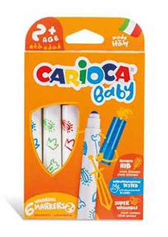 CARIOCA dětské fixy Baby 6 ks