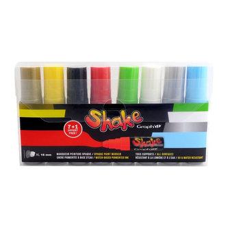 GRAPH´IT SHAKE sada 8 XL 7+1 free - BASIC