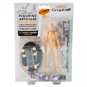 Kloubová figurka - žena