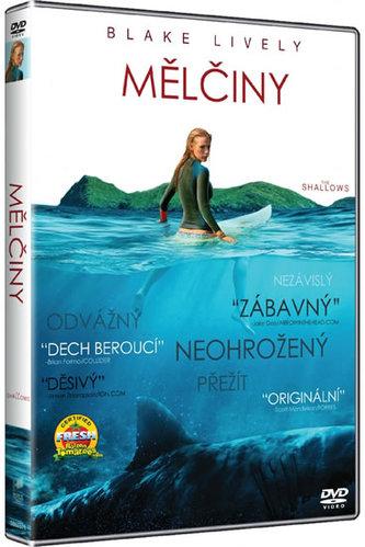 Mělčiny DVD