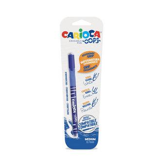 CARIOCA OOPS  mazací kuličkové pero - modré
