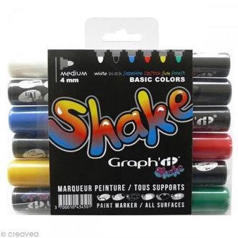 Graph´it Shake sada středně velkých popisovačů, 6ks - Modern