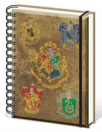 Zápisník Harry Potter - Hogwarts A5