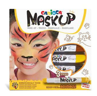 CARIOCA MASK UP ANIMALS sada 3ks