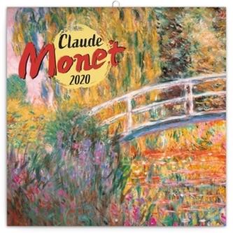 Poznámkový kalendář Claude Monet 2020