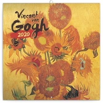 Poznámkový kalendář Vincent van Gogh 2020