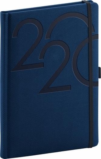 Denní diář Ajax 2020 modrý