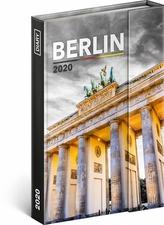 Týdenní magnetický diář Berlín 2020
