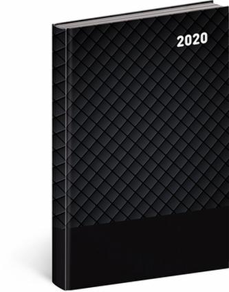 Denní diář Cambio Classic 2020 černý