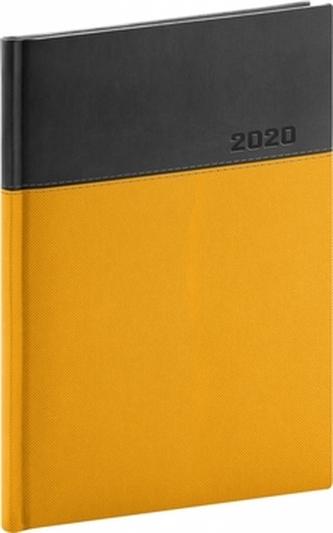 Denní diář Dado 2020 žlutočerný