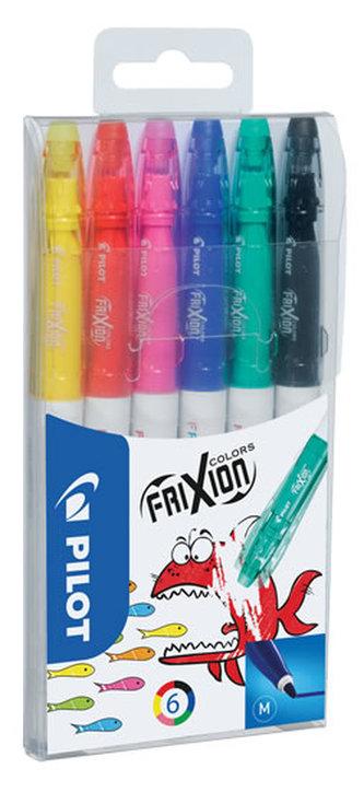 PILOT FriXion Colors, fix, sada 6 barev