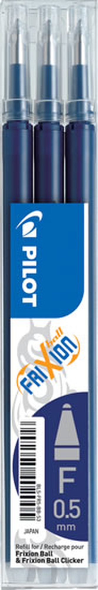 PILOT náplň FriXion 05 modročená-sada 3ks