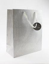 Taška large Glitter stříbrná