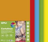 Barevný papír A4 170 g - mix sytých barev 50 ks