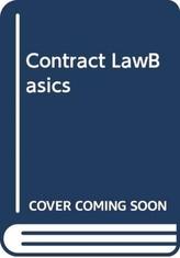 Contract LawBasics