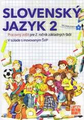Hravá slovenčina 2 PZ  (2.vyd.)