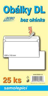 Obálky DL samolepicí (bal. 25ks)