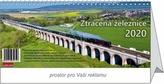 Ztracená železnice - stolní kalendář 2020