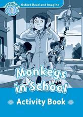Oxford Read & Imag 1 Monkeys in School A
