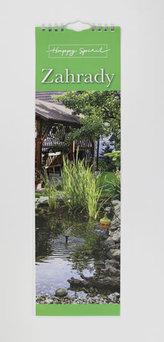 Kalendář slim: Zahrady