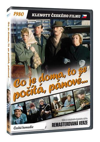 Co je doma, to se počítá, pánové... DVD (remasterovaná verze)