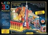 LED 3D Puzzle Cesta po Evropě
