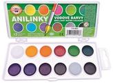 Koh-i-noor brilantní vodové barvy obdélník 12 barev