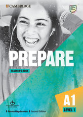 Prepare Second edition Level 1 Teacher´s Book with Downloadable Resource Pack