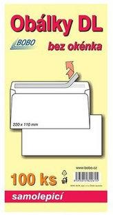 Obálky DL samolepicí (bal. 100ks)
