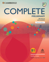 Complete Preliminary Second edition Workbook with answers with Audio Download