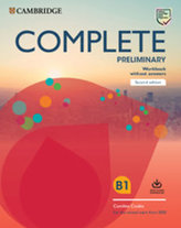 Complete Preliminary Second edition Workbook without answers with Audio Download