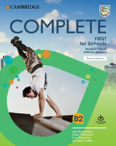 Complete First for Schools Second edition Student´s Book without answers with Online Practice