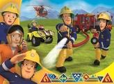 Puzzle Požárník Sam zasahuje