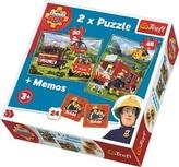 Puzzle Požárník Sam + pexeso